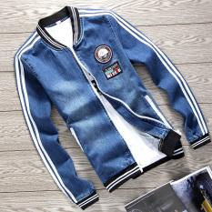 Ulasan Lengkap Tentang Jaket Koboi Laki Laki Jaket Bisbol Korea Fashion Style Lengan Panjang 6612
