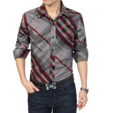 Katalog Kemeja Musim Semi Pria Kemeja Korea Fashion Style Laki Laki 108 Sel Darah Merah Baju Atasan Kaos Pria Kemeja Pria Terbaru