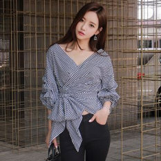 Toko Kemeja Korea Fashion Style Musim Semi Dan Musim Panas Kemeja Lengan Panjang Terlihat Langsing Haig Lengkap Di Tiongkok
