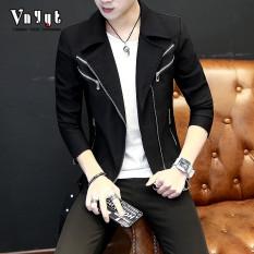 Katalog Korea Fashion Style Pria Bagian Tipis Pada Kepribadian Jas Jaket 8202 Hitam 8202 Hitam Oem Terbaru