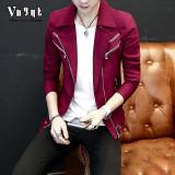Jual Korea Fashion Style Pria Pada Dunia Malam Karakter Jas Jaket 8202 Merah Branded