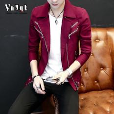 Katalog Korea Fashion Style Pria Pada Dunia Malam Karakter Jas Jaket 8202 Merah Oem Terbaru