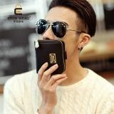 Versi Korea Pria Baru Ayat Pendek Dompet Mode Dompet Kecil Hitam Tas Tas Wanita Dompet Wanita Oem Diskon 40