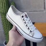 Jual Sekarang Sepatu Datar Sepatu Kasual Korea Fashion Style Musim Gugur Baru Off White Coklat Oem Asli