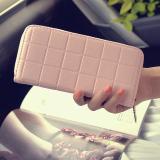 Jual Versi Korea Tunggal Tarik Baru Kotak Kecil Tas Dompet Wanita Dompet 8010 Merah Muda