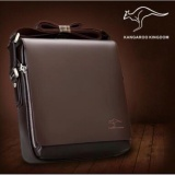 Jual Beli Vertical Kangaroo Kingdom Mesenger Bag Size Xl Tas Selempang Pria Jj 01Br Brown