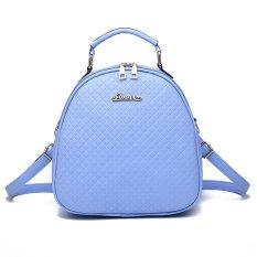 Vicria Tas Branded Wanita - High Quality PU Leather Korean Elegant Bag Style - Biru Muda