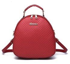 Beli Vicria Tas Branded Wanita High Quality Pu Leather Korean Elegant Bag Style Merah Vicria Murah