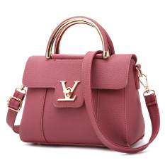Vicria Tas Branded Wanita - High Quality PU Leather Korean Elegant Bag Style With Bear -