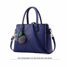 Vicria Tas Branded Wanita Korean High Quality Bag Style Blue Vicria Diskon 30