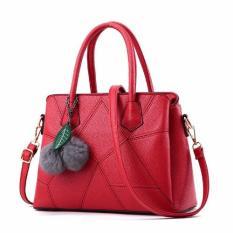 Review Vicria Tas Branded Wanita Korean High Quality Bag Style Red Riau Islands