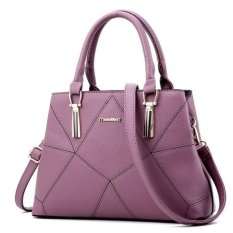Vicria Tas Branded Wanita - Korean High Quality Elegant Style - SOFT PURPLE
