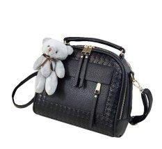 Toko Vicria Tas Branded Wanita Limited Edition High Quality Pu Leather Korean Bag Style Hitam Riau Islands