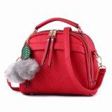 Beli Vicria Tas Branded Wanita With Pompom High Quality Pu Leather Korean Elegant Bag Style Bb2073 Merah Kredit