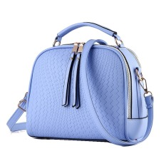 Harga Vicria Tas Branded Wanita Women Korean Elegant Bag Style High Quality Pu Leather Biru Murah