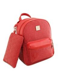 Harga Vicria Tas Ransel Branded Wanita Korean Style Rz4843 2In1 Merah Vicria Riau Islands