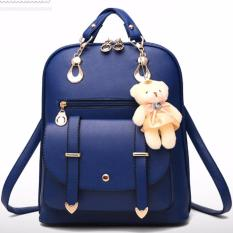 Vicria Tas Ransel High Quality Import Korean Style - Biru Tua 0df8bf246f