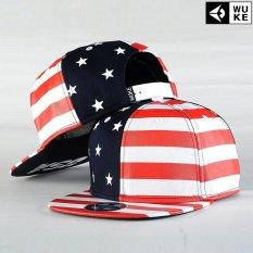 Katalog Topi Bisbol Hip Hop Topi Pinggiran Flat Bendera Nasional Sebagai Topi Baru Fesyen Pria Kemenangan Merah Intl Terbaru
