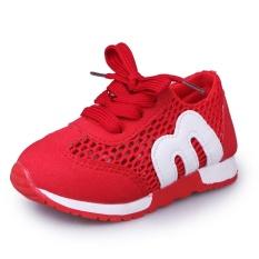 Beli Kemenangan Girls Motion Casual Sepatu Bersih Kain M Alphabet Anak S Sepatu Merah Intl Kredit