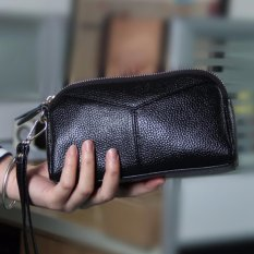 Harga Kemenangan Ladies Dompet Han Edisi Fashion Leather Zero Dompet Hitam Intl Origin