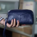 Kemenangan Ladies Dompet Han Edisi Fashion Leather Zero Dompet Biru Intl Oem Diskon