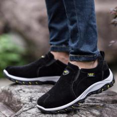 Jual Kemenangan Sepatu Casual Pria Gerakan Outdoor Hiking Sepatu Hitam Intl Lengkap