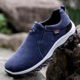 Spesifikasi Kemenangan Sepatu Casual Pria Gerakan Outdoor Hiking Sepatu Biru Intl Oem