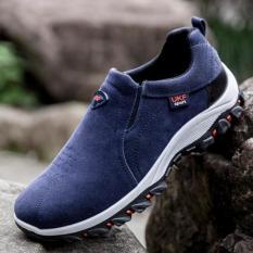 Beli Barang Kemenangan Sepatu Casual Pria Gerakan Outdoor Hiking Sepatu Biru Intl Online