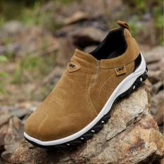 Kemenangan Sepatu Kasual Pria Gerakan Outdoor Hiking SEPATU (Cokelat)-Intl