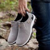 Harga Kemenangan Sepatu Casual Pria Gerakan Outdoor Hiking Sepatu Abu Abu Intl Yang Murah
