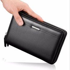 Harga Victory Men S Hand Bag Cowhide Handbag Wallet Business Affairs Men S Bag Black Intl Yg Bagus