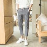 Harga Kemenangan Ukuran Besar Pria Katun Kasual Loose Fashion Outdoor Menjalankan Celana Olahraga Grey Intl Online Tiongkok