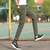 Jual Victory Men S Leisure Elastisitas Fesyen Longgar Bagian Tipis Pensil Celana Hijau Intl Online