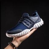Victory Men S Sports Sneakers Fashion Sepatu Kebugaran Menjalankan Sepatu Walking Travel Sepatu Tenis Skateboard Hiking Bersepeda Keranjang Biru Diskon Tiongkok