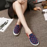 Beli Barang Kemenangan Old Beijing Pola Baru Motion Run Waktu Luang Sepatu Wanita Biru 8001 Intl Online