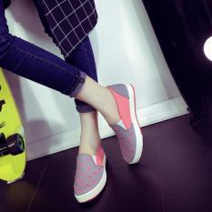 Toko Kemenangan Old Beijing Pola Baru Motion Run Waktu Luang Sepatu Wanita Abu Abu 8001 Intl Terlengkap