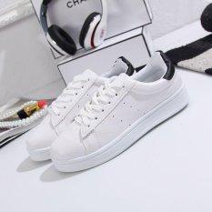 Beli Kemenangan Wanita Fashion Flat Sneakers Sport Sepatu Fitness Menjalankan Sepatu Berjalan Fesyen Putih Intl Terbaru