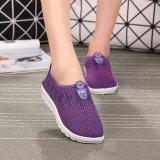Harga Kemenangan Wanita Fashion Flat Olahraga Sepatu Sepatu Lari Berjalan Sepatu Kasual Ungu Intl Oem