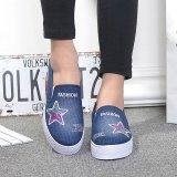 Toko Kemenangan Wanita Fashion Sneakers Sport Sepatu Fitness Menjalankan Sepatu Berjalan Biru Tua Intl Terlengkap