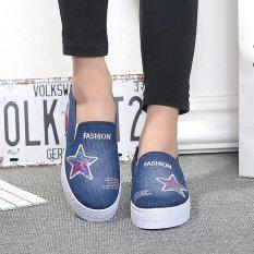 Harga Kemenangan Wanita Fashion Sneakers Sport Sepatu Fitness Menjalankan Sepatu Berjalan Biru Tua Intl Tiongkok