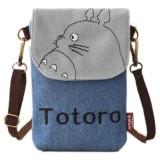 Toko Vienna Linz Tas Selempang Model Totoro Lucu Tas Bahu Casual S6718 Blue Termurah