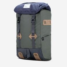 Vintage Backpack Visval Tas Ransel Laptop Raga Navy Olive