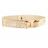 Beli Vintage Hollow Out Bowknot Metal Wide High Waist Belt For Dress Nyicil