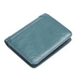 Spesifikasi Vintage Dompet Kulit Dompet Pendek Untuk Pria Intl Paling Bagus