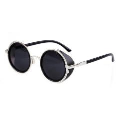 Jual Beli Online Cyber Model Tahun Bulat Kacamata Hitam Hitam Pekat