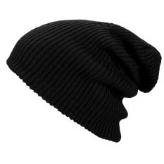 Gaya Antik Unisex Dewasa Pria Wanita Rajutan Musim Dingin Yang Hangat Ski Rajut Kupluk Lembut Padat Topi Crochet Tas untuk Mereka Yang Bertubuh Besar Topi