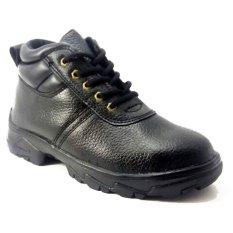 Jual Viox Safety Shoes Genuine Leather V8204 Hitam Viox Online