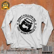 Virgoshop Carvioland Tshirt Gildan White DONT FOLLOW ME Best Quality