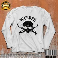 Virgoshop Carvioland Tshirt Gildan White WELDER Best Quality NEW