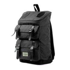 Toko Visval Tas Ransel Laptop Backpack Majestic Black Termurah
